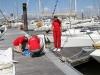 Préparation du bateau Pacioli
