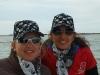 L\'équipage : Coralie et Sandrine en pirates !