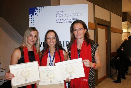 Soirée de remise des diplômes : de nouvelles consoeurs fraîchement diplômées