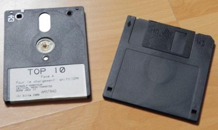 """Disquette 3"""" et disquette 3""""1/2 : deux formats aux destins bien différents"""