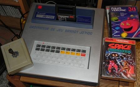 Console de jeux JOPAC JO7400 de Brandt