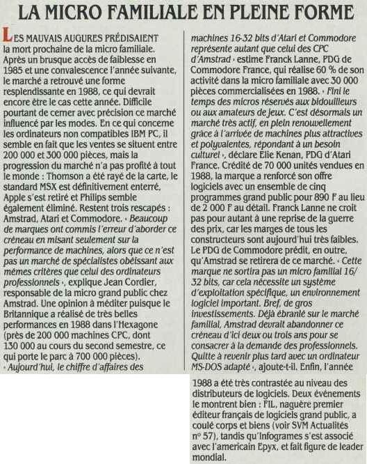 La micro familiale en pleine forme (SVM n°58, février 1989, p. 15)