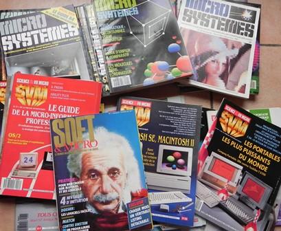 Revues informatiques des années 80
