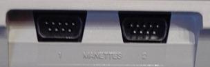2 ports joystick au format Atari