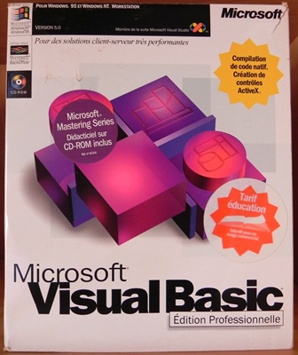 ... suivi de MICROSOFT VISUAL BASIC pour WINDOWS