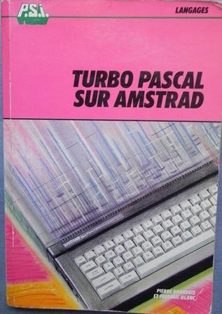 Turbo Pascal sur Amstrad, édition PSI