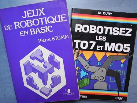 Livres sur l'automatisation et la robotique en Basic