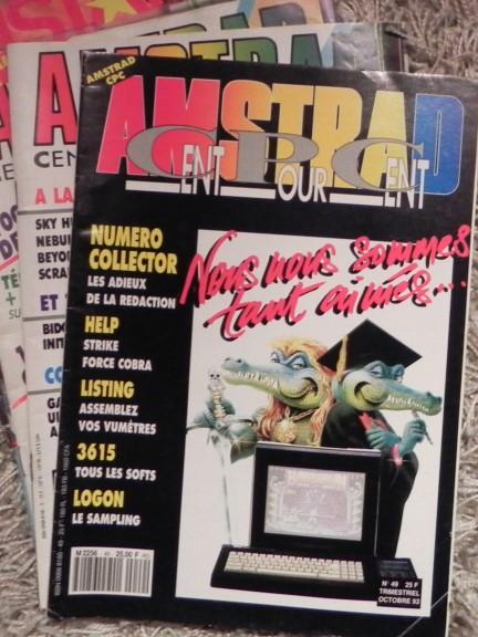 Le dernier numéro du magazine AMSTRAD CENT POUR CENT (n° 49, octobre 1993)
