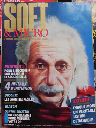 SOFT & MICRO n°1 (octobre 1984) : Couverture
