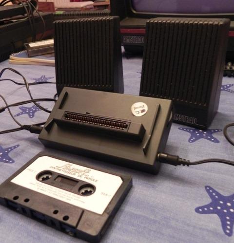 Le synthétiseur de parole SSA-1 de Amsoft pour AMSTRAD CPC