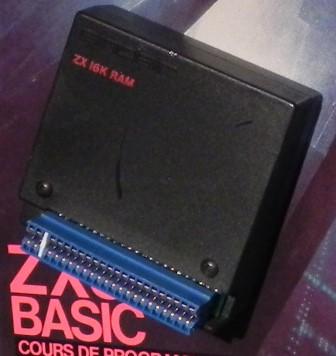 L'extension de mémoire du ZX81 : 16 Ko, que d'espace !
