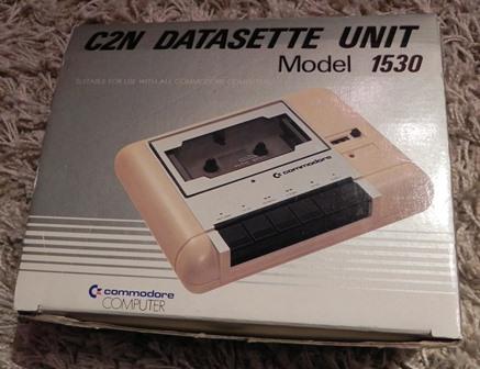 Le lecteur de cassette C2N DATASETTE model 1530 de Commodore