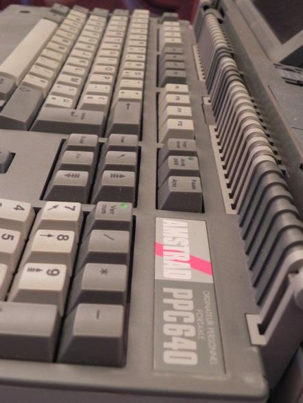 Le clavier du PPC : un véritable clavier de PC