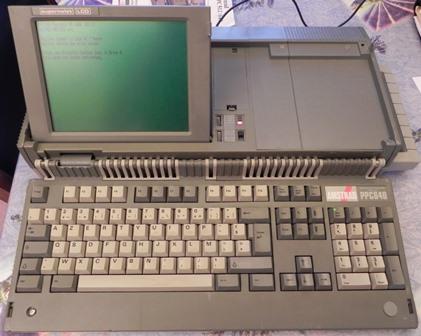 Le PPC 640 une fois ouvert