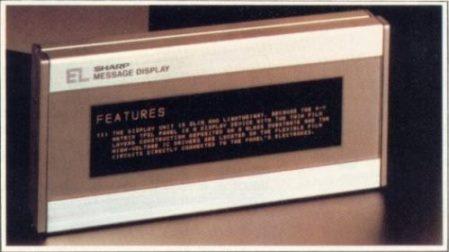 """""""Les écrans plats électroluminescents devraient remplacer, dans un proche avenir, la plupart des tubes cathodiques des ordinateurs et peut-être ceux de nos téléviseurs..."""" (Micro Systèmes n° 25, septembre-octobre 1982, page 145)"""