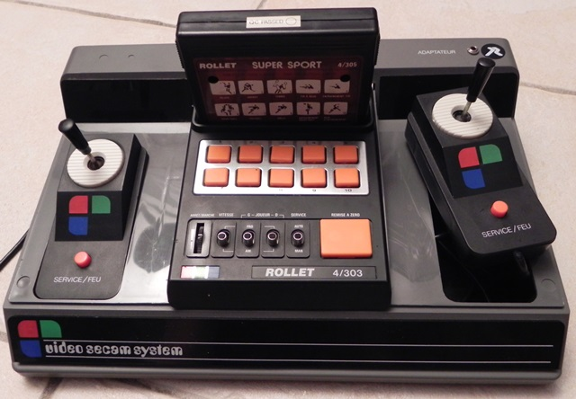 Console de jeux Video Secam System 4/303 (1983)