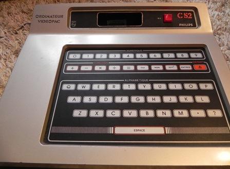 Console de jeux Videopac Philips C52 (1979)