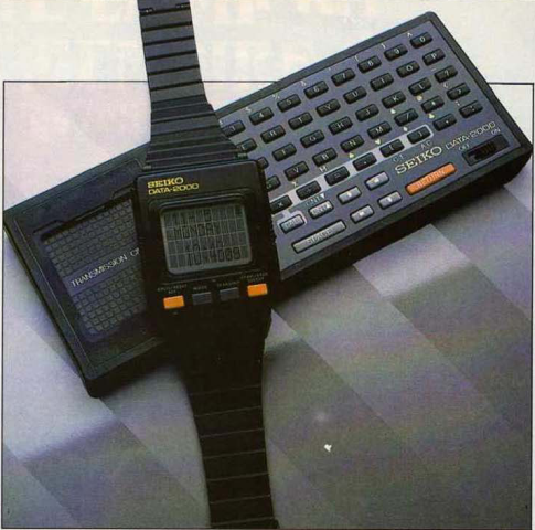 La montre intelligente SEIKO DATA 2000 (Science & Vie Micro n° 12, décembre 1984)