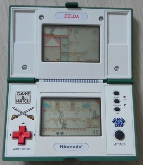 Console Game & Watch Zelda de Nintendo (1989)