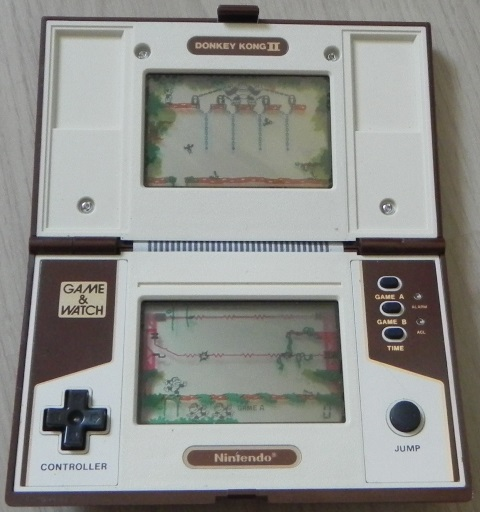 Console Game & Watch Donkey Kong II de Nintendo (1983)