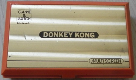 Console Game & Watch Donkey Kong de Nintendo (1982)