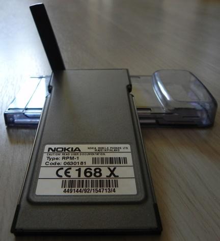 Carte PCMCIA NOKIA GSM 900/1800 modèle RPM-1