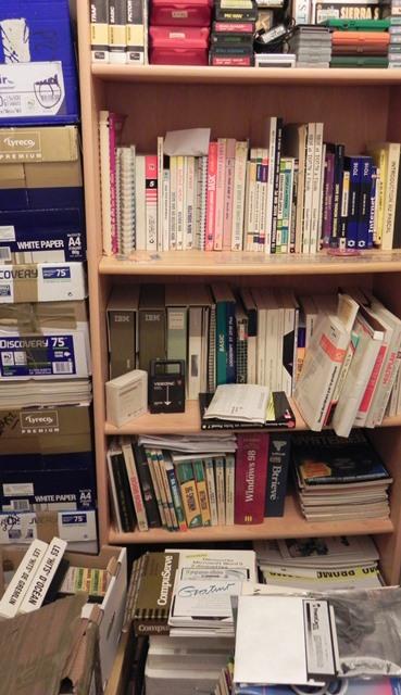 Une partie de ma bibliothèque
