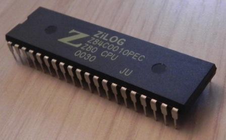 Microprocesseur Z80 de Zilog