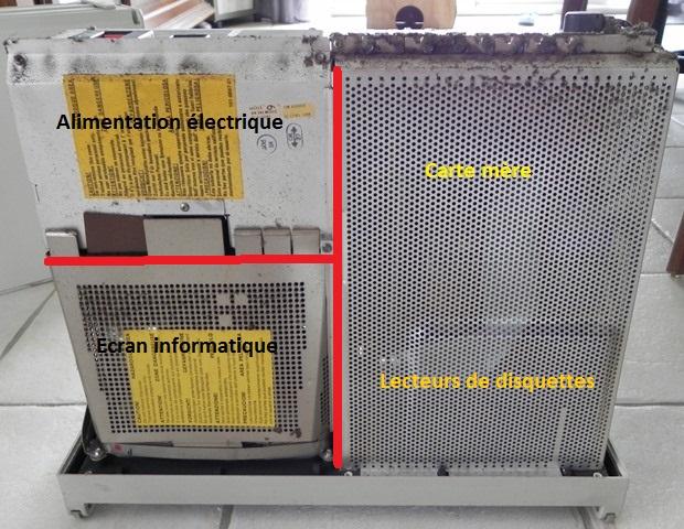 IBM 5155 - Découverte du chassis