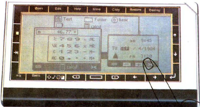 Le nano-ordinateur PBB de MICRO-ARCHI (1986)... a un air de tablette, non ?