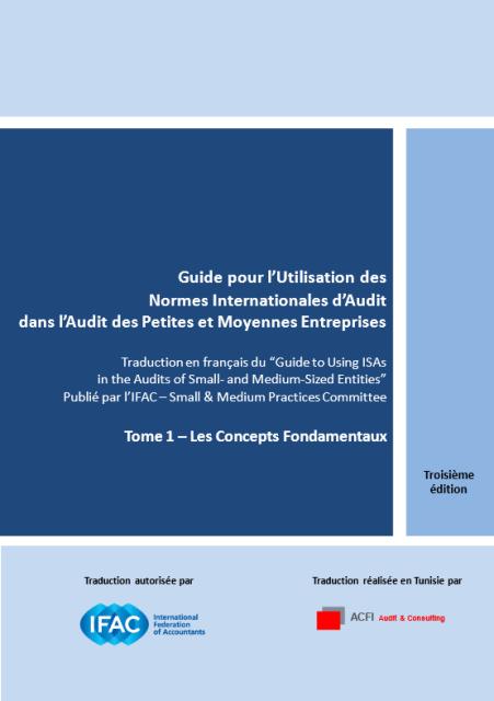 Guide pour l'utilisation des Normes Internationales d'Audit dans l'Audit des Petites et Moyennes Entreprises