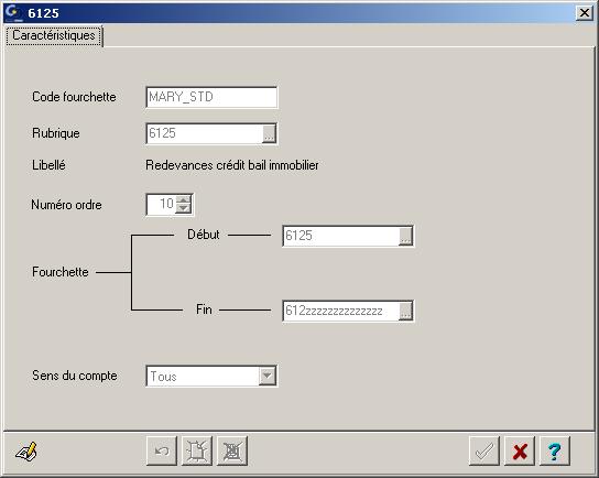 Modifier manuellement une fourchette de regroupement de comptes (ETAFI CONSO)
