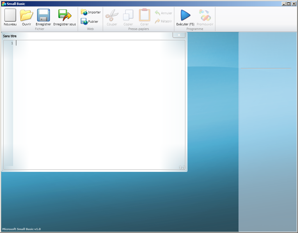 EDI SMALL BASIC (Microsoft)