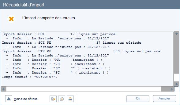 ETAFI Import multi dossier 7