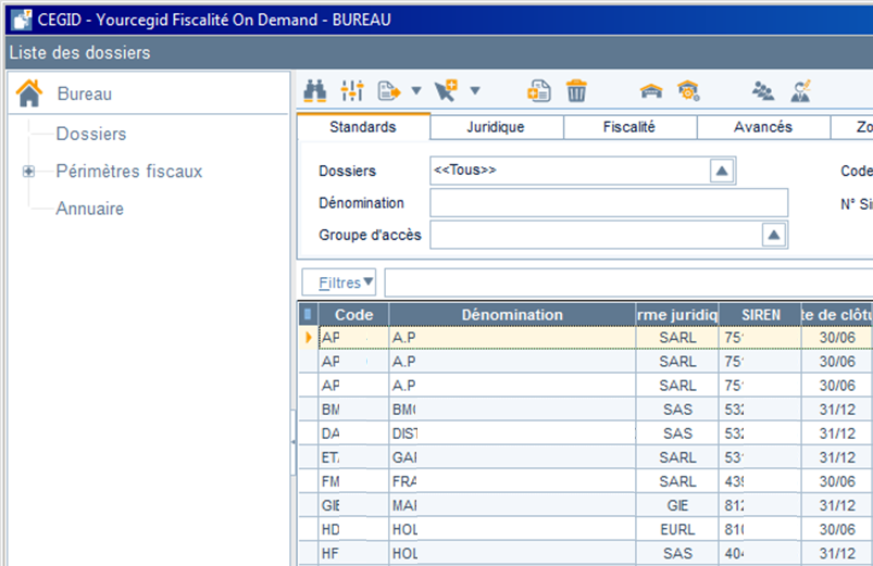 ETAFI Import multi dossier 9