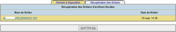 DCSnet FEC Récupération fichiers