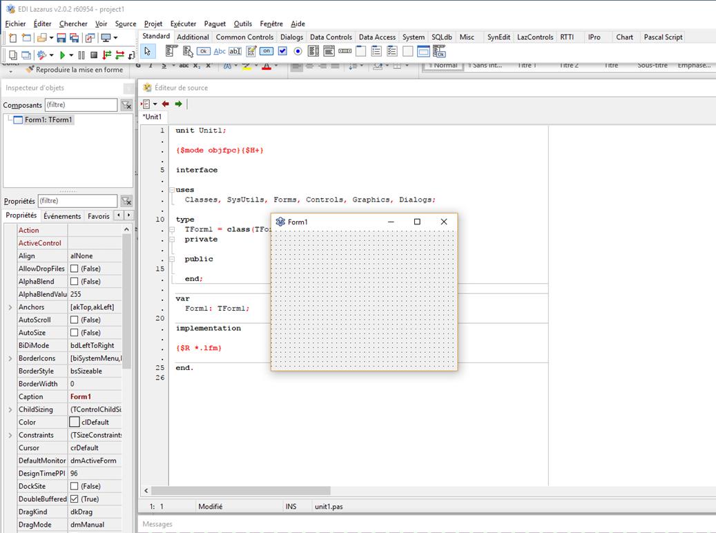 Programmer en langage Pascal avec l'EDI LAZARUS – Audit & Systèmes d