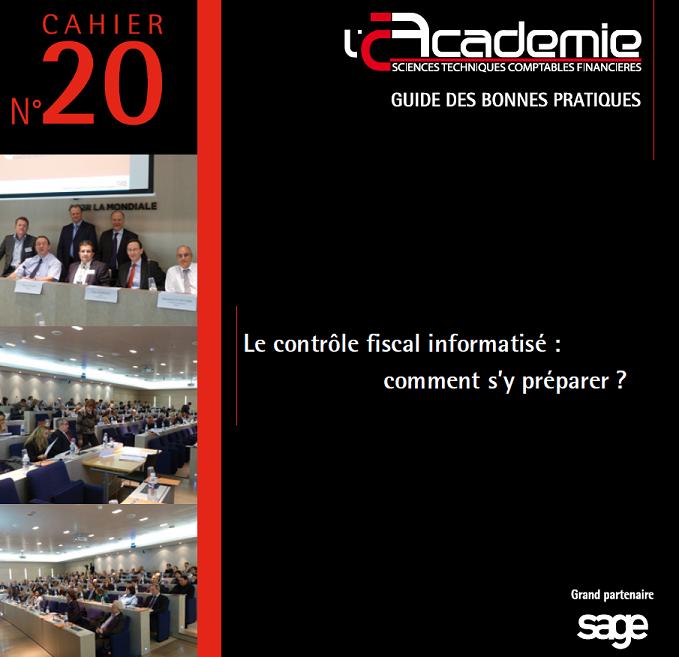 CFCI Cahier 20 Académie