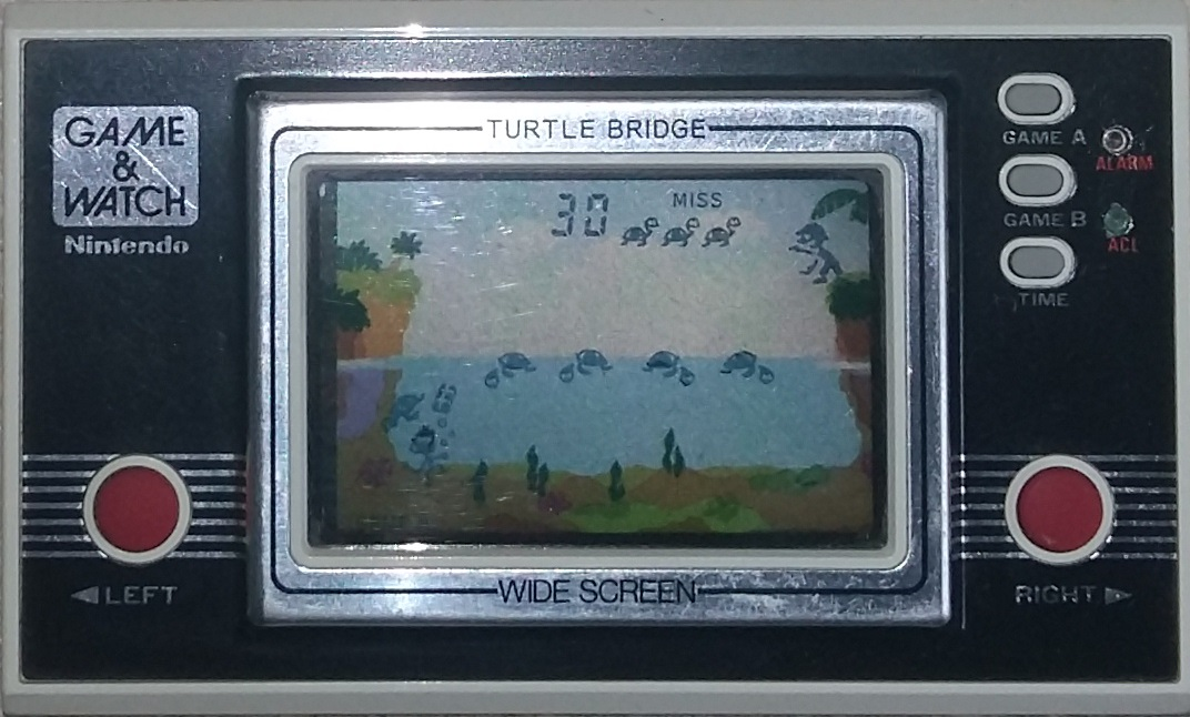 Console Game & Watch Turtle Bridge de Nintendo (1982)