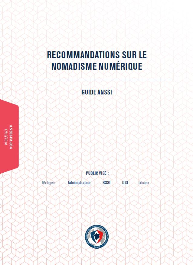 Guide ANSSI nomadisme