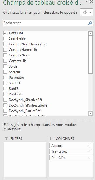 Excel - TCD champ date groupé