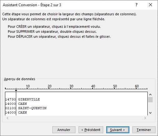 Excel - Conversion Données 6
