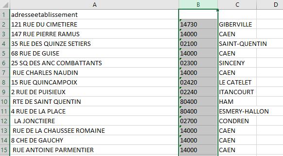 Excel - Conversion Données 8